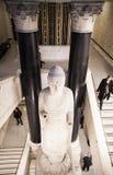 London. British museum interior Royalty Free Stock Photo