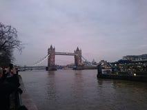 London bro från långt Royaltyfri Foto
