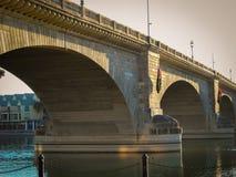 London bro i den Lake Havasu staden, Arizona Arkivfoton
