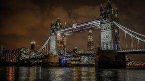 London bro och skärvan arkivbild