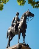 London - Bronze statue of the Duke of Wellington in Hyde Park by Sculptor Joseph Edgar Boehm 1888.  Royalty Free Stock Image