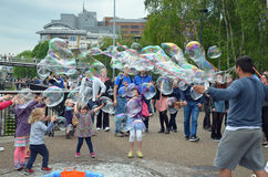 London Bubbles Royalty Free Stock Photography