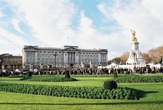 London, Buckingham Palace Royalty Free Stock Images