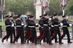 London - Buckingham Palace Guard Changing Stock Image
