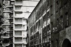London. Building architecture black white stock images