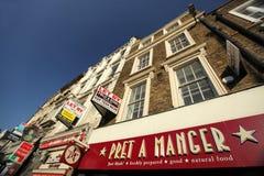 London building facade Royalty Free Stock Photography