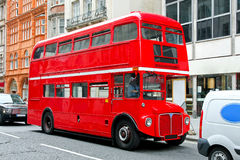 London bus stock images