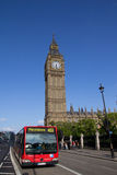 London-Bus Lizenzfreie Stockbilder