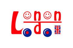 London-Bus Lizenzfreies Stockbild