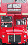 London-Bus Lizenzfreies Stockfoto