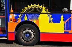 London bus royalty free stock photos
