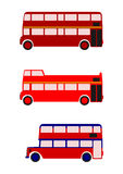 London-Bus. Stockfoto