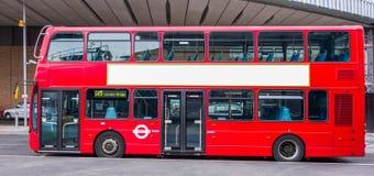London-Bus Lizenzfreies Stockfoto