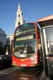 London-Bus Stockfotos