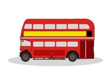 London-Bus Stockfoto