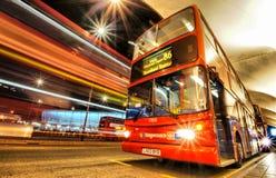London-Bus Stockfotografie