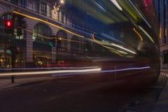 London-Bus Stockbild