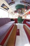 London bus in Belluno, during the Beatles days Royalty Free Stock Photo