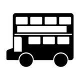 london bus classic icon Stock Image