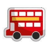 london bus classic icon Royalty Free Stock Photo