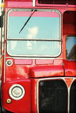 London bus detail Royalty Free Stock Images
