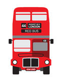 London bus icon Stock Photography