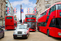 London bus Oxford Street W1 Westminster Royalty Free Stock Photography