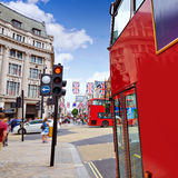 London bus Oxford Street W1 Westminster Royalty Free Stock Images