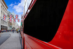 London bus Oxford Street W1 Westminster Stock Images