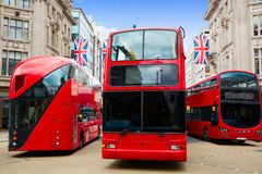 London bus Oxford Street W1 Westminster Stock Photography