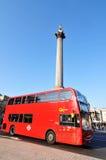 London bus station royalty free stock photos