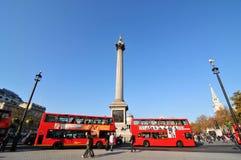 London bus station royalty free stock image