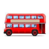 London bus on white vector. London bus on white photo-realistic vector illustration vector illustration