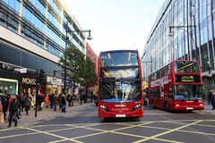 London buses Stock Photo