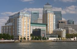 London Business District. Business District of London, UK Royalty Free Stock Images