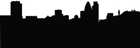 London business district skyline Stock Photo