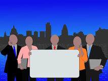 London business team Royalty Free Stock Image
