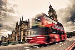 London buss Arkivbild