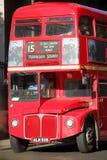 London bussar Fotografering för Bildbyråer