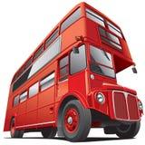 London bussar den dubbla däckaren Royaltyfri Foto