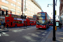 London Busses Royalty Free Stock Image