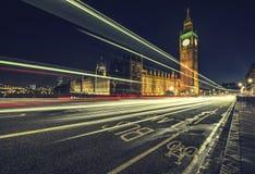 London bussfil Royaltyfri Foto