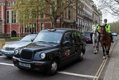 London cab Royaltyfri Bild