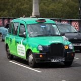 London cab Royalty Free Stock Photography