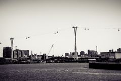 London Cable Car Royalty Free Stock Photography
