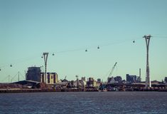 London Cable Car Royalty Free Stock Images