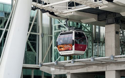 London Cable Car Stock Photo