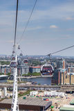 London Cable Cars Royalty Free Stock Photography