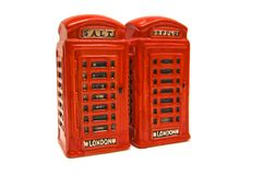 London call boxes Royalty Free Stock Image