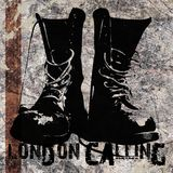 London Calling Grunge Boots Stock Photography